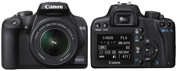 Canon EOS 1000D Rebel XS